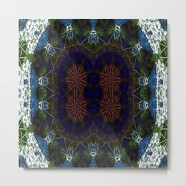 Quantum Blueprint Metal Print