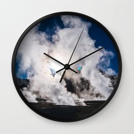 Tatio Geysers in the Atacama Desert, Chile Wall Clock