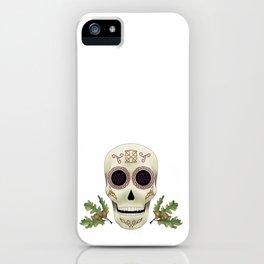 Knotwork Skull iPhone Case