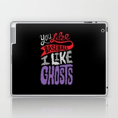 Baseball, Ghosts Laptop & iPad Skin