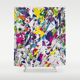 Explosion - 12 Shower Curtain