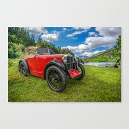 Arriving In Style Canvas Print