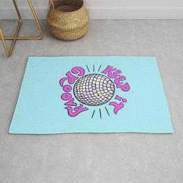Keep It Groovy Disco Ball Rug
