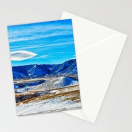 Wyoming Winter Nature Stationery Cards