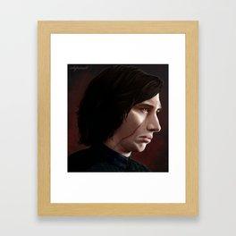 Let the Past Die. Framed Art Print