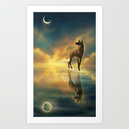 Zenith Ocean Art Print