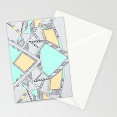 Aztec print illustration (2) Stationery Cards