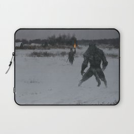hunting at night Laptop Sleeve