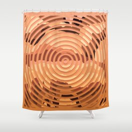 TOPOGRAPHY 2017-000 Shower Curtain