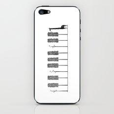 The Pianist iPhone & iPod Skin