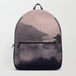 HIDDEN HILLS (mauve) / Bregenz Forest, Austria Backpack