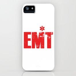 I´m Your EMT EMS Ambulance Doctor Medicine Paramedic Caduceus Gift iPhone Case