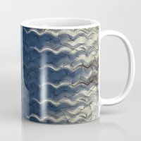 wave Mugs featuring Wave by thinschi