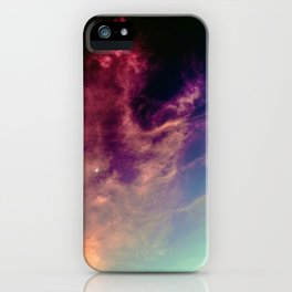Cotton Candy Lullaby iPhone Case