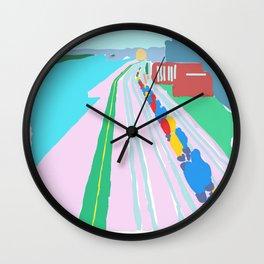 Montreal Trainyard Wall Clock