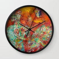 biology Wall Clocks featuring Synthetic Biology by Lennon Michalski