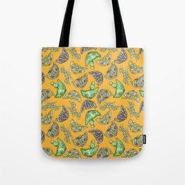 """Oro?"" Cactus Mustard Tote Bag"
