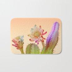 Peach Cactus Bath Mat