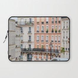 Addicted to paris building Laptop Sleeve