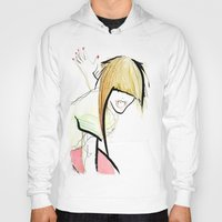 girl power Hoodies featuring Girl Power by Juan I. Scocozza