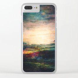 When she wakes up Clear iPhone Case