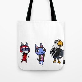 voltron animal crossing Tote Bag