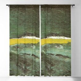 August Strindberg Wave VII Blackout Curtain