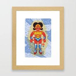 Wonderbot Framed Art Print