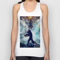 rocket raccoon Tank Tops featuring Rocket Raccoon by Luca Leona