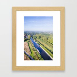 Alrewas canal Framed Art Print