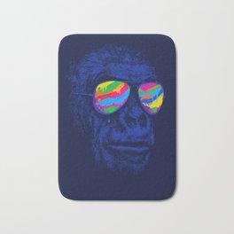 Blue Gorilla Bath Mat
