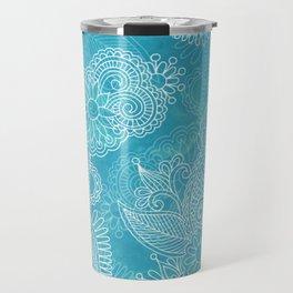 Aqua Henna Travel Mug