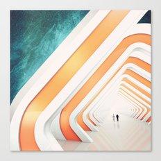 A walk Canvas Print