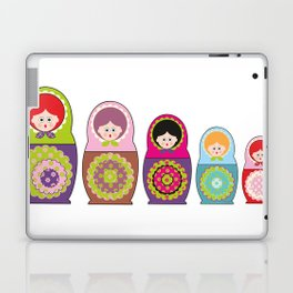 Kawaii Russian dolls Laptop & iPad Skin