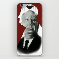 hitchcock iPhone & iPod Skins featuring Hitchcock by FlacoGarcia