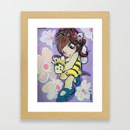 hunbee's fun Framed Art Print