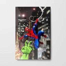Spider-sense Metal Print
