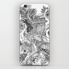 The Six Swans iPhone & iPod Skin