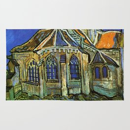 Vincent Van Gogh - Church at Auvers Rug