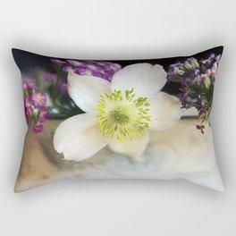 Summer Fragrance Rectangular Pillow