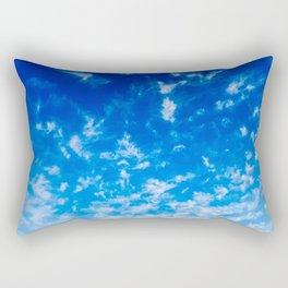 Whispy Clouds Rectangular Pillow