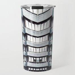 futuristic building Travel Mug