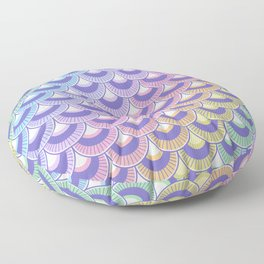 Koi Nobori Niji Pastel Floor Pillow