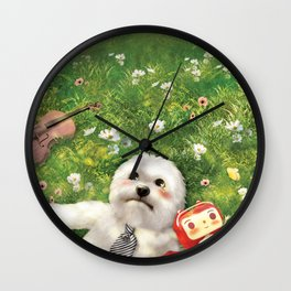 Our Times Wall Clock