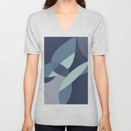 Flying in the blue Unisex V-Neck