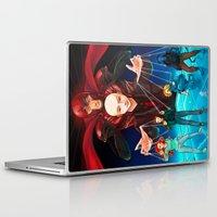 nightcrawler Laptop & iPad Skins featuring Apocalypse by Arisu