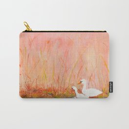 Gooses day out on the pond Carry-All Pouch