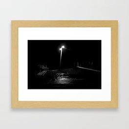 Atitlán nocturno. Framed Art Print