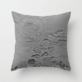 A Rose Series III Throw Pillow
