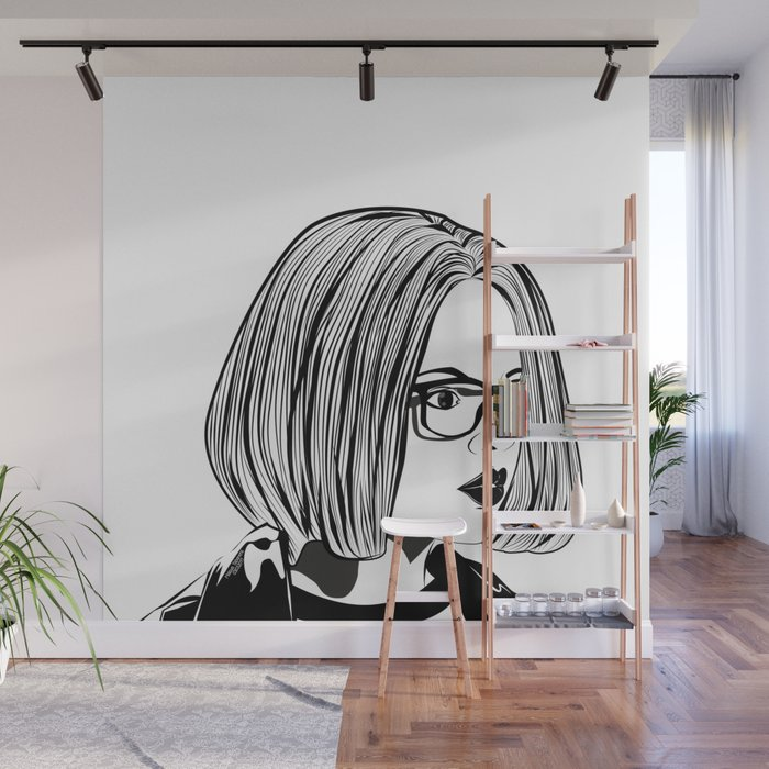 Enid Ghost World Punk Rock Wall Mural by naeemakrishna Society6